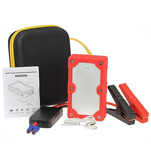 Avviatore di emergenza per Auto - Batteria Booster - Starter - Power Bank Portatile - Rosso