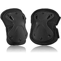 Set di protezioni per adulti, SKL TF stile di protezione della sicurezza della ruota dentata del ginocchio gomito & Pads Skateboard OXELO Protezioni per Softair Tattico di Combattimento della protezione di skate–4PCS, nero