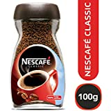 Nescafé Classic Coffee, 100g Glass Jar