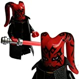 Custom Brick Design CBD Sith Lord Darth Talon Figur Gefertigt aus Lego Star Wars & Custom Teilen
