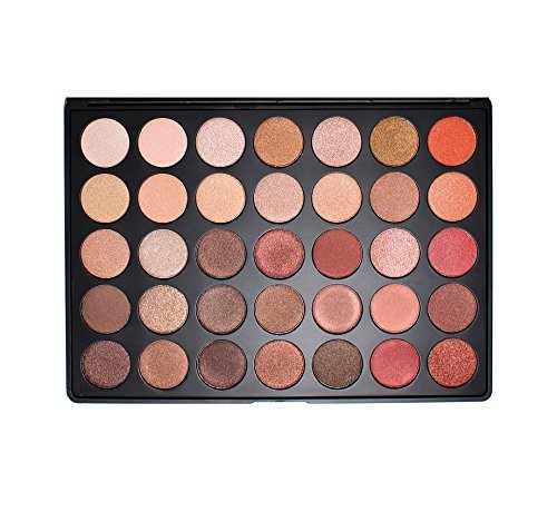 Morphe 35OS Shimmer Color Nature Glow Eyeshadow Palette