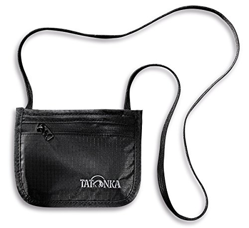 Tatonka Geldaufbewahrung Skin ID Pocket, Black, 10 x 13 cm