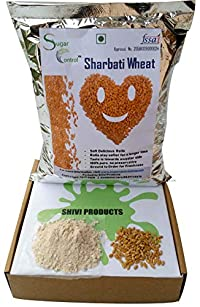 MP Sharbati Wheat Fresh from Farms | No Mixture | No Preservatives | Washed and Dried (4.5 Kg)