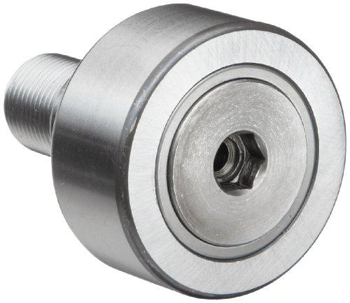 INA NUKRE72 Nockenfolger, Nietentyp, unversiegelt, exzentrisch, metrisch, Stahl, 72 mm Rollendurchmesser, 28 mm Rollenbreite, 49,5 mm Bolzenlänge, 80 mm Gesamtlänge, 24 mm Stollendurchmesser