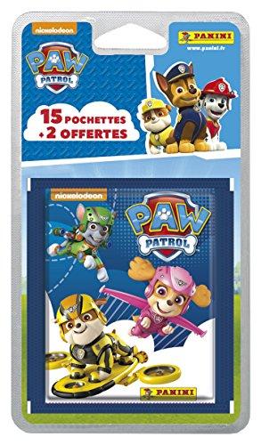 Panini France SA 2318-020 Pat Patrouille 3 Blister 15 Pochettes