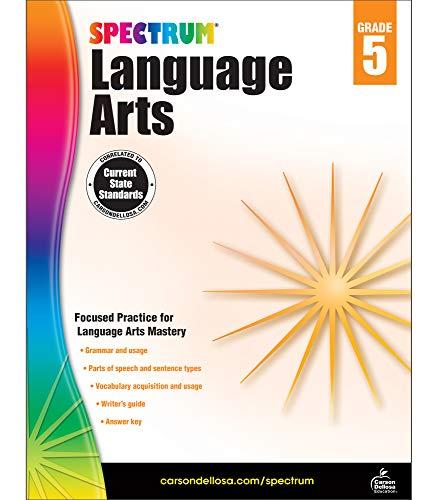Spectrum Language Arts, Grade 5 (Arts Language Spectrum 5)