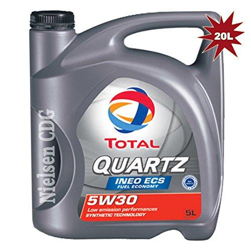 total-quartz-ineo-ecs-5w30-car-engine-motor-oil-4x5l-20-litre