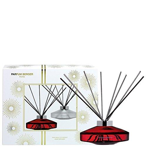 PARFUM BERGER - 006151 - COFFRET BOUQUET BRINS PARFUMES 100 ML SCENT ROUGE + RECHARGE ORANGE CANNELLE