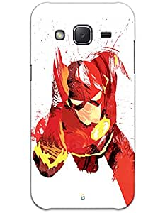 Samsung Galaxy J2 J200 Cases & Covers - The Flash Running Case by myPhoneMate - Designer Printed Hard Matte Case - Protects from Scratch and Bumps & Drops.