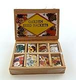 Melody Jane Dolls Houses Puppenhaus Miniatur Garten laden Gewächshaus Zubehör Saatgut Packungen ausstellungsschachtel