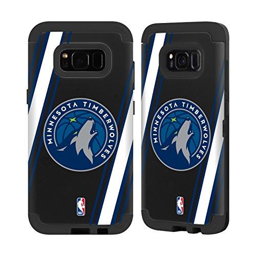 Offizielle NBA Linien Minnesota Timberwolves Schwarz Sentry Hülle für Samsung Galaxy S8 (Minnesota Timberwolves Hat)