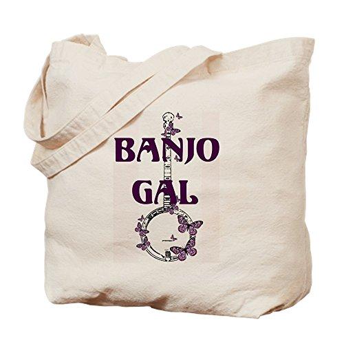 CafePress–Butterfly Banjo–Leinwand Natur Tasche, Reinigungstuch Einkaufstasche Tote S khaki