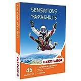 DAKOTABOX - Coffret Cadeau - SENSATIONS PARACHUTE - dont 10 sauts à 4000 mètres d'altitude