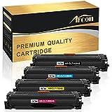 Arcon Kompatibel für CLT-K504S CLT 504 K504S C504S M504S Y504S CLT-504S Toner für Samsung Xpress CLX 4195FN C1810 C1810W C1860 C1860FW CLP-415 CLP-415N CLP-415NW CLX-4195N CLX-4195FN CLX-4195FW