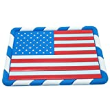Waterwood American Flag Pattern Anti-slip Non-slip Mat Car Dashboard Adhesive Mat Sticky Pad for Cell Phone, PDA, GPS and other Electric Devices