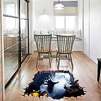 Xue Halloween Wandaufkleber, Terror Umweltschutz Kunst-Dekor, Tapeten, Wand-Decal, Wandbild, Kunst-Dekor, Für Halloween, Wohnküche, Wohnzimmer, Schlafzimmer