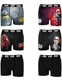 Star Wars Boxer, Shorty Homme (lot de 6)