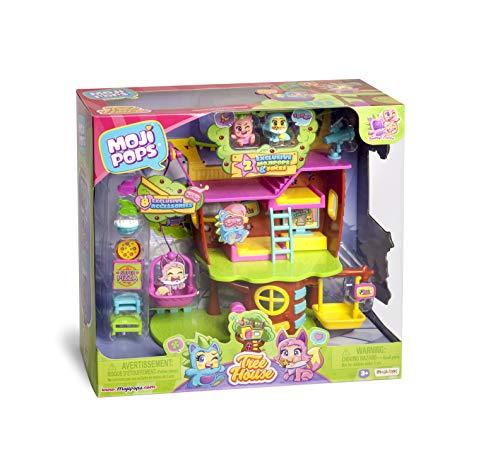 MOJIPOPS -  Treehouse con 2 exclusivas figuras MojiPops y variedad de accesorios