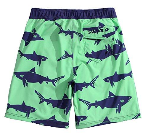 MaaMgic Herren Badeshort Elastic Shark