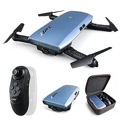JJRC Quadcopter 720P WIFI FPV Foldable Selfie Drone With Gravity Sensor Headless Mode Altitude Hold Mode RTF