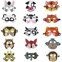 Asremit Máscara de los niños de los niños Respetuoso del Medio Ambiente Fiesta de Disfraces
