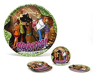 Atosa-Atosa-17113-pack 5 Platos 23 cms diam. Scooby doo,, Talla única (17113)