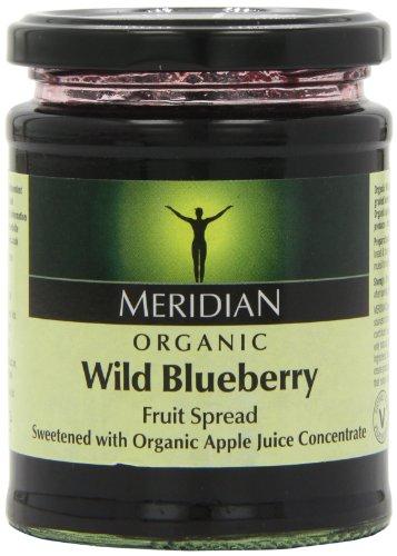 Meridian Organic Wild Blueberry Fruit Spread 284 g (Pack of 6) Test