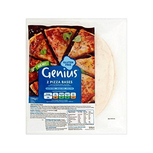 Bases De Pizza Génie De Gluten Libre 2 Par Paquet