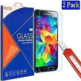 2x Samsung Galaxy S5 / S5 neo plt24 Ultra-Klar Glasfolie Panzerglas Schutzfolie ...