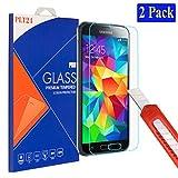 2X plt24 Samsung Galaxy S5 / S5 neo Ultra-Klar Glasfolie Panzerglas Schutzfolie Displayschutzglas Schutzglas Hartglas für Samsung Galaxy S5 / S5 neo (2 Stück)