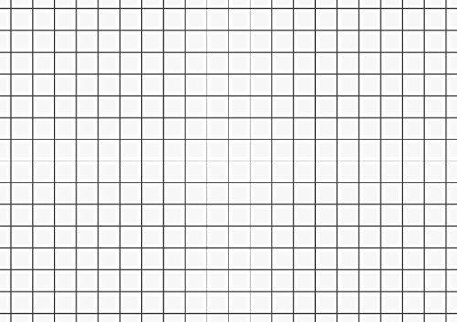 Brunnen 102270200 Karteikarte (A7 kariert, 100 Stück, eingeschweißt) weiß