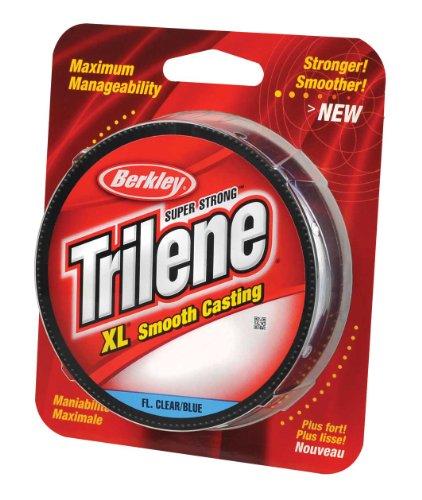 Berkley Trilene XL filler 0cm di diametro lenza, 1,8kilogram test, 301,8m bobina, fluorescenti blu e chiaro