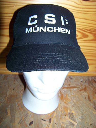 CSI - Abverkauf , CSI: MÜNCHEN - Logo Hat Basecap Cap Mütze , Logo aufgestickt ! Kostüm , Karnevall , Fasching