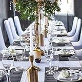 Racksoy Tischset Platzdeckchen (8er Set) Umweltfreundlich PVC Platzsets, Waschbare hitzebeständige Wasserdichte Tischmatte, schwarz, für Esszimmer, Küche, Raumdekoration - 9