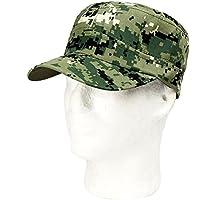 Gorra Bisera de Camuflaje Militar Verde para Caza y Pesca Talla 54 a 59 cm 4531
