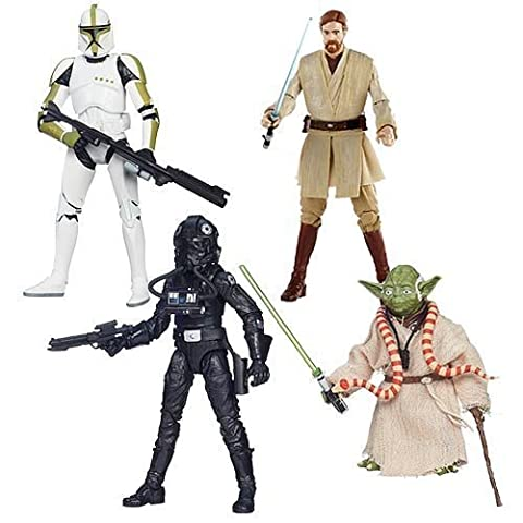 Star Wars Black Series 6-inch Action Figures Wave 6 Set of 4 by Hasbro