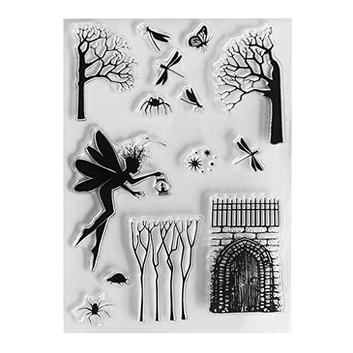 Kalttoy DIY Silikon Klare Stempel Blatt Scrapbooking Album Foto DIY Geburtstag Weihnachten Valentinstag Thanksgiving Geschenke