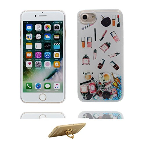 "Hülle iPhone 6 Plus, [ Liquid Fließendes Glitzer Bling Bling Floating sparkles ] iPhone 6S Plus Handyhülle Cover (5.5 zoll), iPhone 6 Plus Case Shell (5.5"") Anti-Beulen & Staubstecker - Pink # 8"