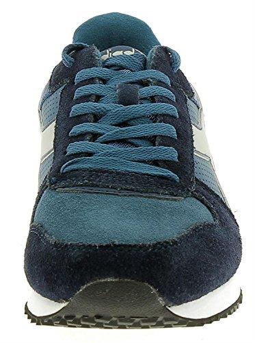 Diadora Malone S, Baskets Basses Pour Hommes 60076 - Bleu Fonce