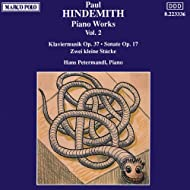 Hindemith: Piano Works, Vol. 2