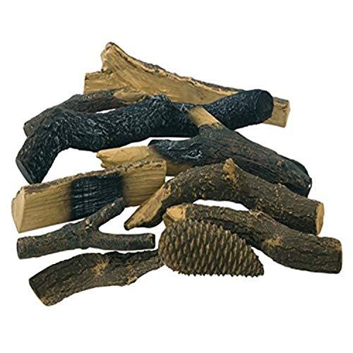 Accesorios de chimenea etanol y gel de encendido cerámica maciza decorativa maderas...
