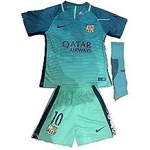 replica Barcelona 2016 – 17 jóvenes Home Kit Camiseta & Pantalones Cortos y Calcetines ...