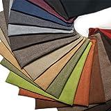 Kissen-Hülle Dekokissen Zier-Kissen Kissenbezug Textil-Stoff Sawanna Struktur Leinen-Optik Polster-Stoff Möbel-Bezugsstoff eckig 50 cm x 50 cm Grey