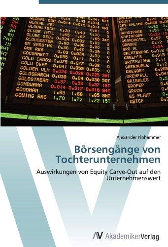 Börsengänge von Tochterunternehmen: Auswirkungen von Equity Carve-Out auf den Unternehmenswert
