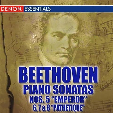Beethoven Piano Sonatas Nos. 5 -