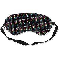 Natural Silk Eyes Mask Sleep Funny Pineapple Blindfold Eyeshade with Adjustable for Travel,Nap,Meditation,Sleeping... preisvergleich bei billige-tabletten.eu