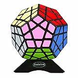 Dodolive Shengshou Megaminx Cubo Magico Puzzle divertido regalo juguetes educativos,Negro
