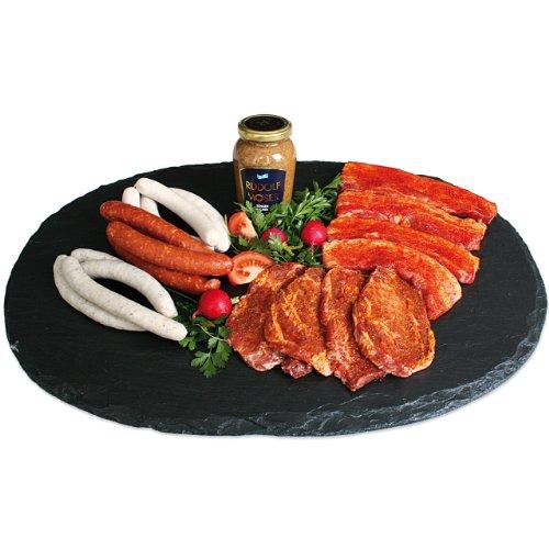 Landmetzger Schiessl - Feinschmecker Grillpaket für die perfekte Grillparty - Inhalt: ca. 2,8kg