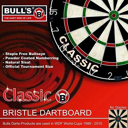 Bulls/Darts Classic Bristle Board Mehrfarbig, One Size (Tasche Boards Werfen)