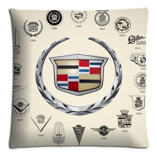 18x18-18x18-45x45cm-bedroom-pillow-cases-polyester-and-cotton-easy-care-queen-size-cadillac-car-logo